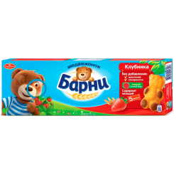 БАРНИ МЕДВЕЖОНОК с клубничной начинкой 20х150 г