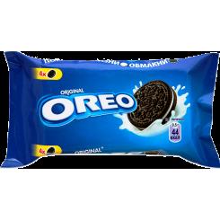 """Печенье """"OREO"""" с какао и кремовой начинкой ванильного вкуса, 38 г"""