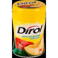 Жевательная резинка без сахара Dirol Турбо Арбуз-дыня 272 г