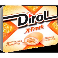 Жевательная резинка Dirol Х-Fresh Мандарин 16 г