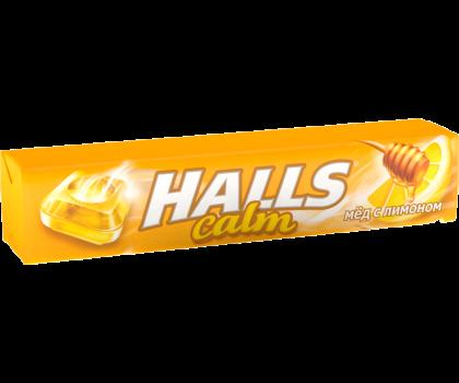 Леденцы HALLS со вкусом меда и лимона, 33 г