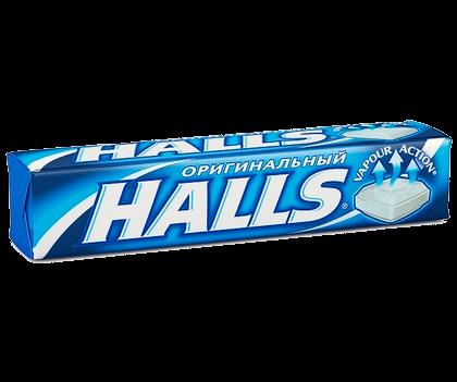 Леденцы HALLS Оригинальный, 33 г