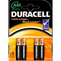 DURACELL батарейки Basic AAAx4