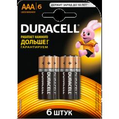 DURACELL батарейки Basic AAAx6