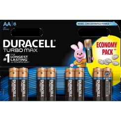 DURACELL батарейки ТУРБО AAx8