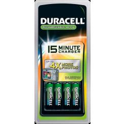 DURACELL зарядное устройство CEF15 KTN01X06 (с аккумуляторными батарейками 2400mAh - 4 шт.)