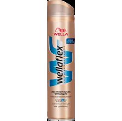 Wellaflex Экстрасильная фиксация Лак для волос экстрасильной фиксации с технологией Flexactive 250 мл