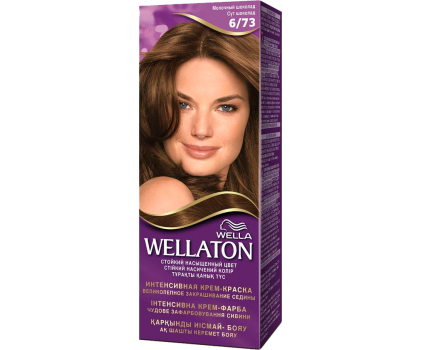 Wellaton Стойкая Крем-краска Молочный шоколад 6/73 50 мл