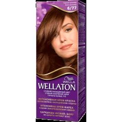 Wellaton Стойкая Крем-краска Горький шоколад 6/77 50 мл