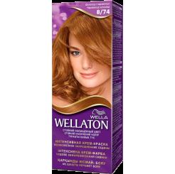 Wellaton Стойкая Крем-краска Шоколад с карамелья 8/74 50 мл