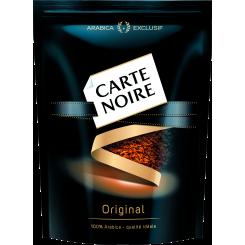 Растворимый кофе натуральный сублимированный Carte Noire Original (Карт Нуар), 150 г