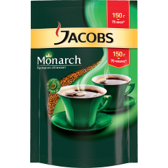 Кофе Jacobs Monarch в пакете 150 г