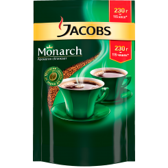 Кофе Jacobs Monarch в пакете 230 г