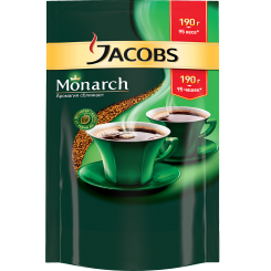 Кофе Jacobs Monarch в пакете 190 г