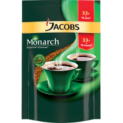 Кофе Jacobs Monarch в пакете 33 г