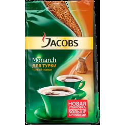 Молотый кофе жареный Jacobs Monarch для турки (Якобс Монарх), 70 г