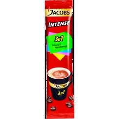 Кофейный напиток растворимый 3в1 JACOBS Intense (Якобс), 13.5 г