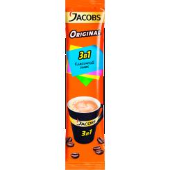 Кофейный напиток растворимый 3в1 JACOBS Original (Якобс), 12 г