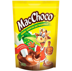 Какао MacChoco Pouch 24х235 г