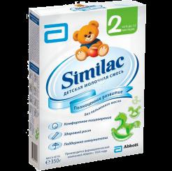 Детская молочная смесь Similac 2 (Симилак) от 6 до 12 месяцев, 350 г
