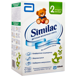 Детская молочная смесь Similac 2 (Симилак) от 6 до 12 месяцев, 700 г