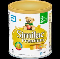 Детская сухая молочная смесь Similac Премиум 2 от 6 до 12 месяцев, 900 г