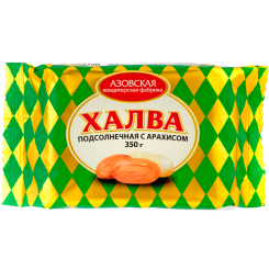 Халва подсолнечная с арахисом 350 г
