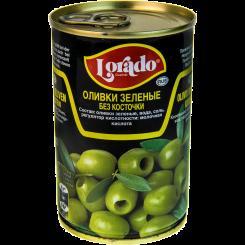 Оливки Lorado зеленые без косточки 314 мл