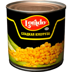 Кукуруза консервированная Lorado 425 мл