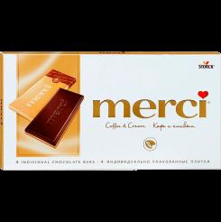 Шоколад МЕРСИ МОЛОЧНЫЙ КОФЕЙНЫЙ 15x100 г
