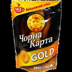 Кофе Черная Карта Gold в пакете 285 г