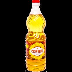 Подсолнечное масло Сказка 0.9 л