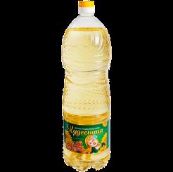 Подсолнечное масло рафинированное Кудесница 1.8 л