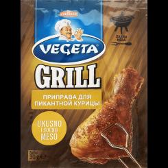 VEGETA GRILL приправа для пикантной курицы 30 г