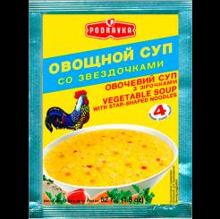 Суп овощной со звездочками 52 г