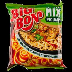 BIGBON Лапша СпайсМикс + соус Пикантный 80 г