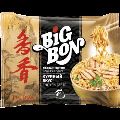 BIGBON Тянь-Шань Лапша со вкусом Курицы 95 г