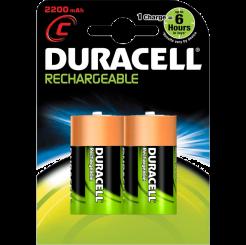 DURACELL аккумуляторные батарейки  Cx2