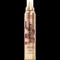 Wellaflex Сияние цвета Мусс для волос сильной фиксации с технологией Flexactive 200 мл