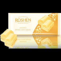Шоколад ROSHEN пористый белый 85 г флоу-пак