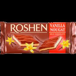 Шоколад ROSHEN молочный с ванильной нугой 90 г