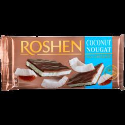 Шоколад ROSHEN молочный с кокосовой нугой 90 г