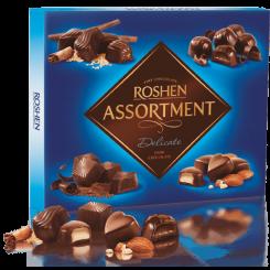 Конфеты ROSHEN assortment delicate черный шоколад 148 г