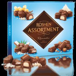 Конфеты ROSHEN assortment romantik молочный шоколад 144 г