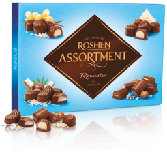 Конфеты ROSHEN assortment romantik молочный шоколад 292 г