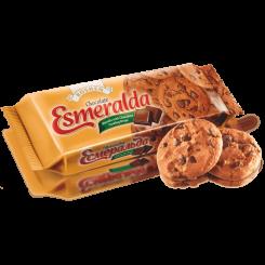 Печенье ROSHEN Esmeralda шоколадная с шоколадными кусочками 150 г