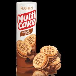 Печенье-сендвич ROSHEN multi cake c какао 180 г