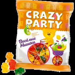Мармелад жевательный Crazy Party Мишки 70 г
