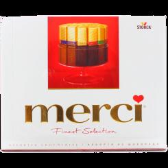 Ассорти из шоколада Merci (Мерси), 250 г