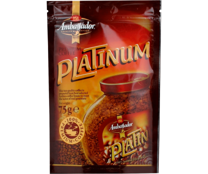 Кофе Platinum пакет 75 г